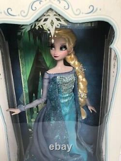 DISNEY FROZEN, SNOW QUEEN ELSA DOLL, LIMITED EDITION 2,500, Brand New Mint In Box