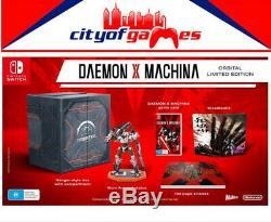 Daemon X Machina Orbital Limited Edition Nintendo Switch Brand New In Stock