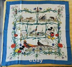 Disney Gucci Silk Scarf Mickey Mouse Brand new with Limited Edition Box