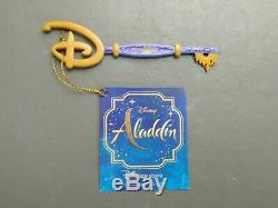 Disney Store Key Aladdin Movie Limited Edition Exclusive 2019 Brand New With Tags