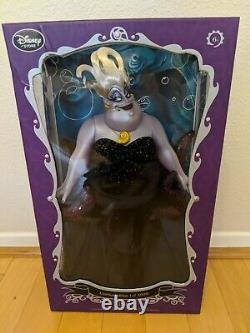 Disney Store Little Mermaid Ursula Limited Edition Doll 17 Brand New