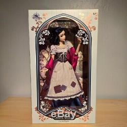 Disney Store Snow White Rags Limited Edition 17 Doll Brand New In Box
