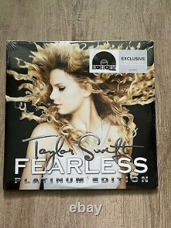 Fearless by Taylor Swift RSD 2018 hand numbered colored vinyl brand new sealed