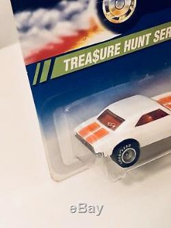 Hot Wheels 67 Camaro White 1995 Treasure Hunt Grail Car Brand New WithProtector
