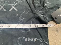 KAWS x Air Jordan T-Shirt Men's Large Brand New 884488-010 IV 4 Limited Edition