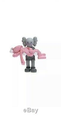 Kaws GONE Figure Grey Pink LIMITED EDITION Brand New (Now In Possession)