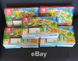LIMITED EDITION Nintendo Switch Animal Crossing Game INCLUDED BRAND NEW
