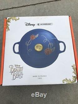 Le Creuset Beauty and the Beast Soup Pot Limited Edition-Disney- BRAND NEW