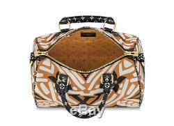 Louis Vuitton Speedy 25 Crafty Capsule Caramel Bag Authentic LV Brand New