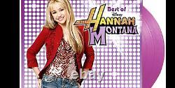 MILEY CYRUS Best Of Hannah Montana LP on PURPLE VINYL 2000 Made BRAND NEW SEALED