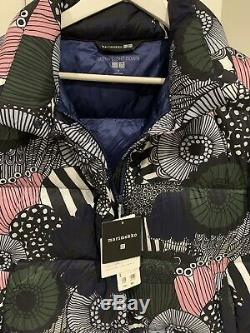 Marimekko Limited Edition Size S Down Puffer Jacket Sold Out Uniqlo Brand New