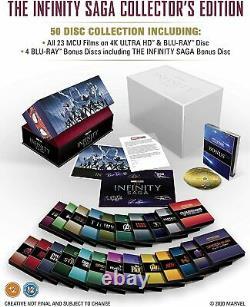 Marvel Studios The Infinity Saga (4K UHD + Blu-ray Complete Box-Set) Brand New