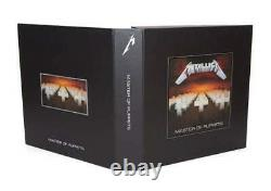 Metallica Master Of Puppets Deluxe Box Set Limited Complete Brand New Sealed