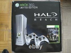 Microsoft Xbox 360 Halo Reach Limited Edition 250GB Silver Console Brand new