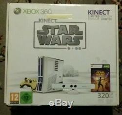 Microsoft Xbox 360 Limited Edition Kinect Star Wars 320GB Console Brand New MIB