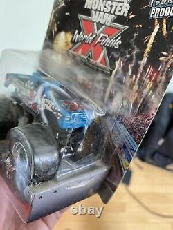Monster Jam World Finals X Limited Edition 1/1000 Brand New Opened Slightly