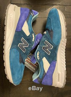 NEW BALANCE X CONCEPTS 998 NOR'EASTER MENS SZ 12 (US998MCP) Brand New