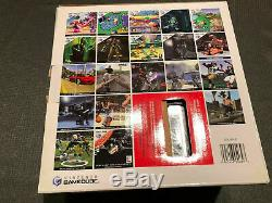 NINTENDO GAMECUBE Limited Edition PLATINUM CONSOLE (NTSC Brand New)
