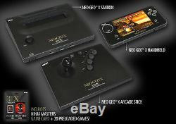 Neo-Geo X Gold Limited Edition Console Brand New! + Warranty
