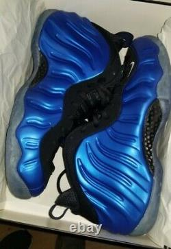 Nike Air Foamposite One Royal Blue XX 20th Anniversary(2017) Size 10.5 BRAND NEW