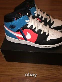 Nike Air Jordan 1 Mid Game Time Grade School CV4891-001 BRAND NEW Authentic 7Y