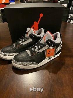 Nike Air Jordan 3 Retro OG (Black Cement) 2018 DeadStock Brand New Size 12