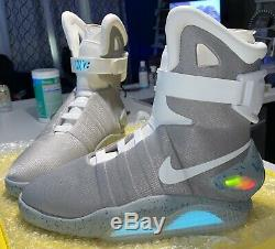 Nike Air Mags Back to The Future BRAND NEW withEXTRAS Read Description