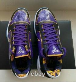 Nike Kobe V Protro 5x Champ Lakers Size 9.5 Brand New