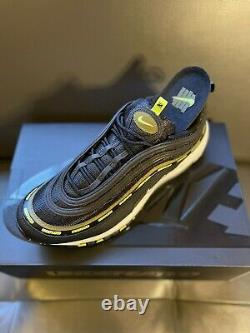 Nike x Undefeated Air Max 97 Black Volt DC4830-001 Size 11 Brand New