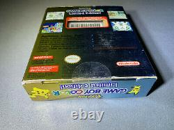 Nintendo Game Boy Color Pokemon Limited Edition Brand New
