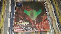 Nintendo GameCube Metroid Prime Bonus Bundle Limited Edition Platinum Brand New