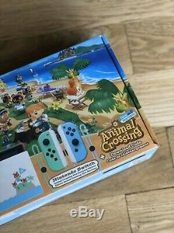 Nintendo Switch Animal Crossing Edition Brand New Limited Edition, Fast Shipping
