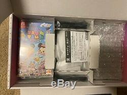 Nintendo Switch Disney Tsum Tsum Festival Japan Set Limited Edition Brand New