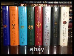 Outlander Series 8 Volume Set ALL SIGNED by DIANA GABALDON Brand New Hardbacks