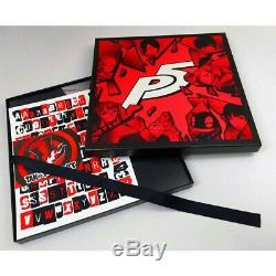 Persona 5 Vinyl Record LP- Brand New Sealed 4 Color LP Ps4 Royal Atlus P5 Ps5