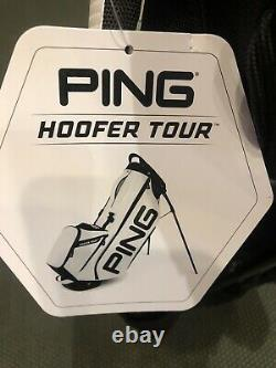 Ping Hoofer Tour Bag 5-Way Top Color White/Black / Limited Edition / Brand New