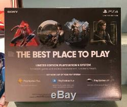 Ps4 Steel Gray Limited Edition Days Of Play Brand New Sealed 1TB Slim System