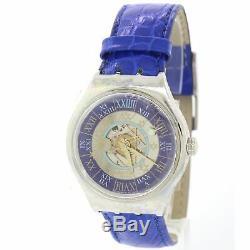 RARE BRAND NEW Swatch Limited Tresor Magic Platinum SAZ101 Watch COMPLETE C8