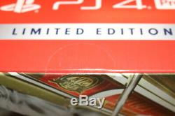 SPIDER-MAN PS4 PRO 1TB Limited Edition Amazing Red Console. RARE & BRAND NEW