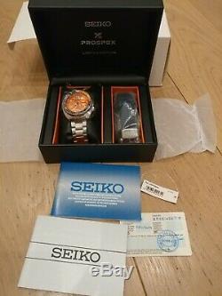 Seiko SRPC95K1 PROSPEX Nemo Turtle Limited Edition BRAND NEW Collector