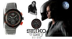 Seiko Vintage Non Digital Watch Nos Giugiaro Red Bishop Alien 7a28 Brand New