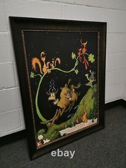 Seuss After Dark In The Park Brand New Framed