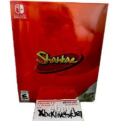 Shantae Collectors Edition Nintendo Switch Limited Run Games #083 BRAND NEW