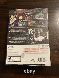 Shin Megami Tensei IV Limited Edition Nintendo 3DS Brand New Factory SEALED RARE