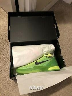 Size 11 Nike Zoom Kobe 6 Protro Grinch 2020 Brand New In Box Never Worn