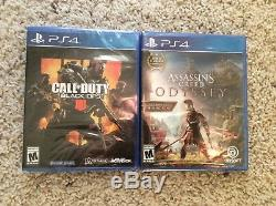 Sony PS4 Call of DutyWWII Limited Edition 1TB & 37 Games (All Brand NewithSealed)