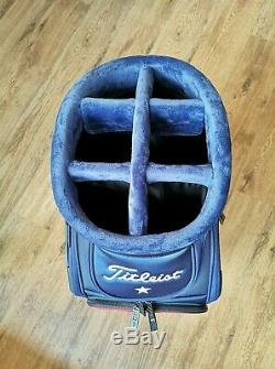 Titleist Red White Blue Tour Staff Golf Bag Brand New Super Limited Edition