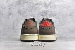 Travis Scott x Nike Air Jordan 1 Low Cactus Jack 100% brand new, fast shipping