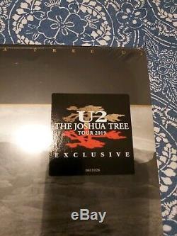 U2 The Joshua Tree 2lp 2019 Tour Exclusive Red Vinyl Brand New