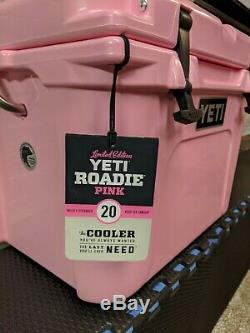 Yeti Roadie 20 Cooler LIMITED EDITION PINK BRAND NEW IN BOX